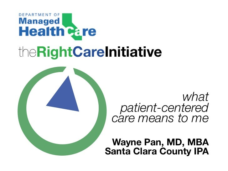 theRightCareInitiative                          what               patient-centered              care means to me         ...