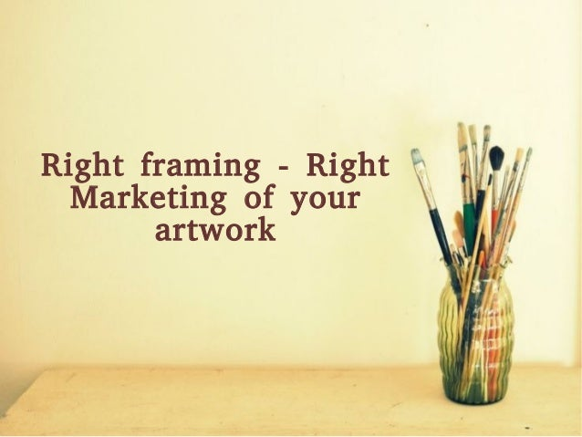 Right Frame For Right Picture Market Analysis