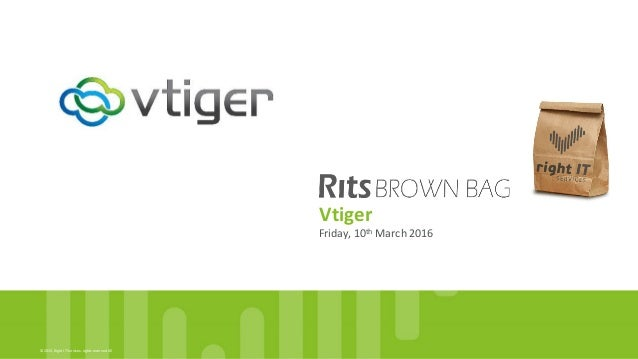 Rits Brown Bag - vtiger