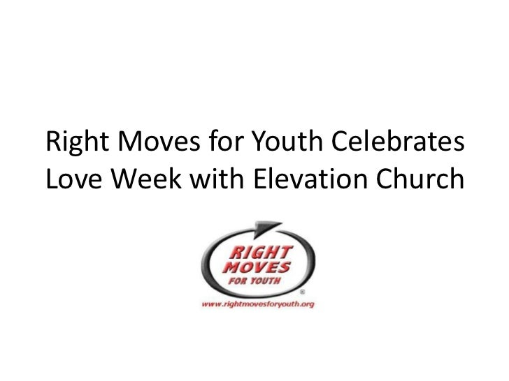 Right Moves for Youth Celebrates Love Week with Elevation Church<br />