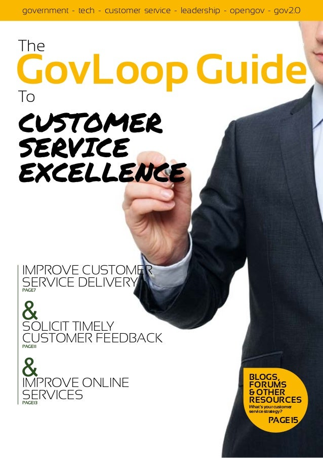 government - tech - customer service - leadership - opengov - gov2.0The                                                   ...