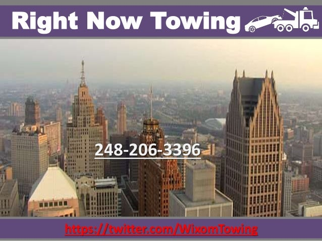 https://twitter.com/WixomTowing Right Now Towing 248-206-3396