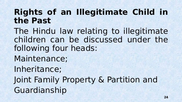 preferential right under hindu law