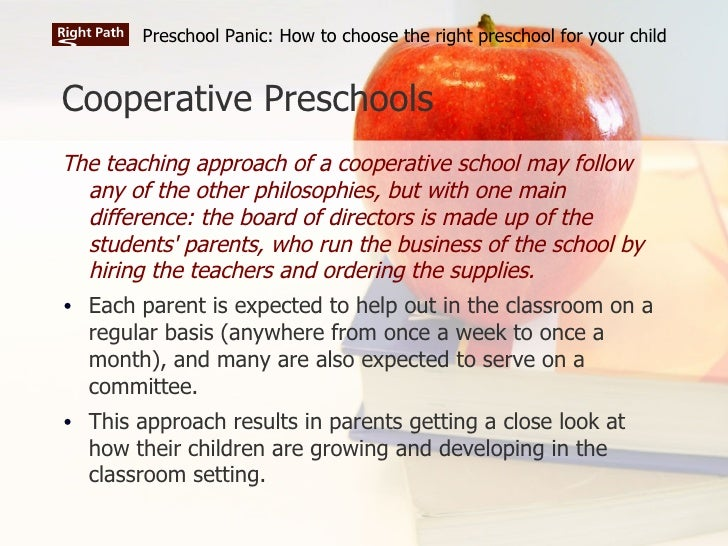 Preschool Panic: How to choose the right preschool for ...