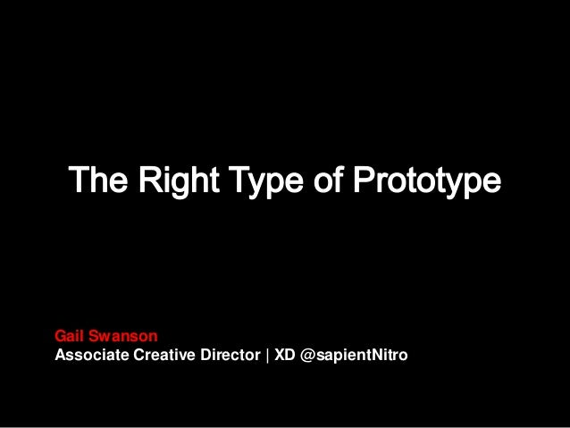 Gail Swanson Associate Creative Director | XD @sapientNitro