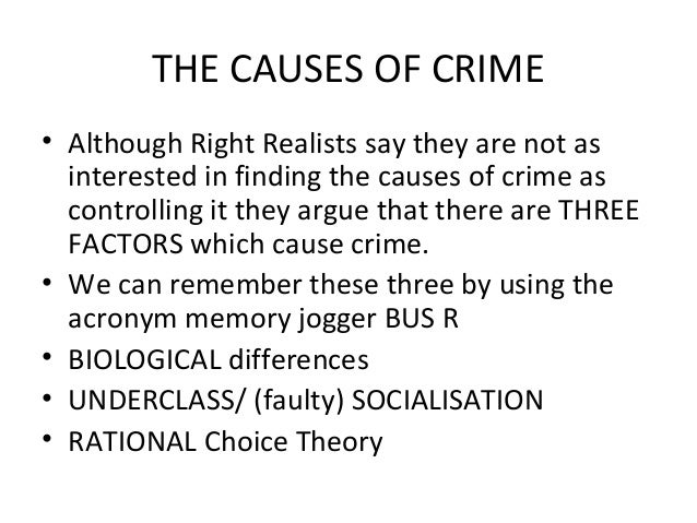 poverty is definitely the criminal offenses essay