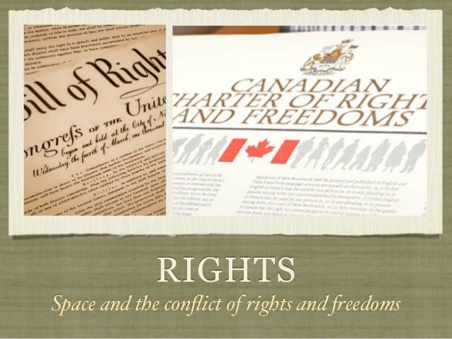 RIGHTSSpace and the conflict of rights and !eedoms