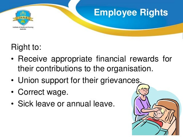where to get advice about employment responsibilities and rights