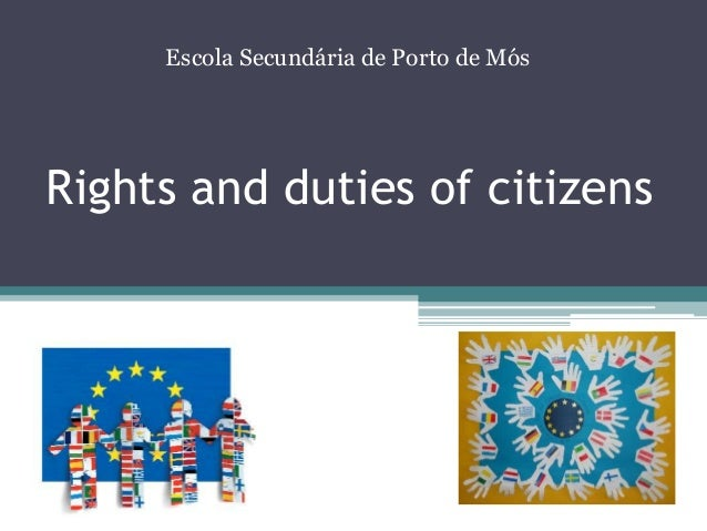 right and duties of citizens