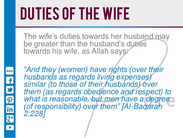 obedience to husband