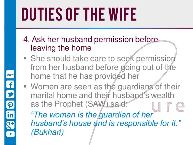 the role of a housewife Then, nine months later, i went and became a feminist housewife myself  and labor market means i can't ignore the role that gender plays in.