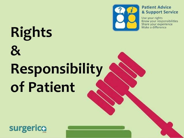 Rights & Responsibility of Patient