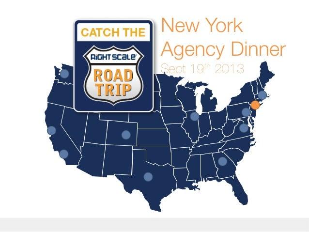New York Agency Dinner Sept 19th 2013