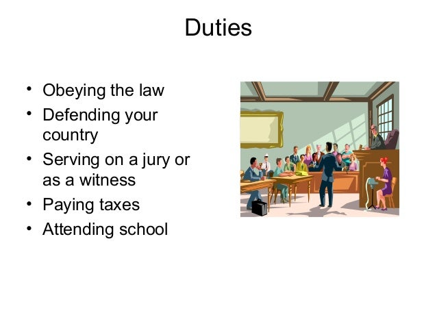 duties obligations citizen The rights and obligations of citizens democracy means that all government authority is derived from the people and that the handling of government authority shall be subject to monitoring by the people.