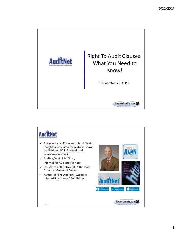right to audit clauses what you need to know rh slideshare net