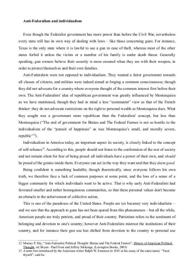 essay about gun control in america