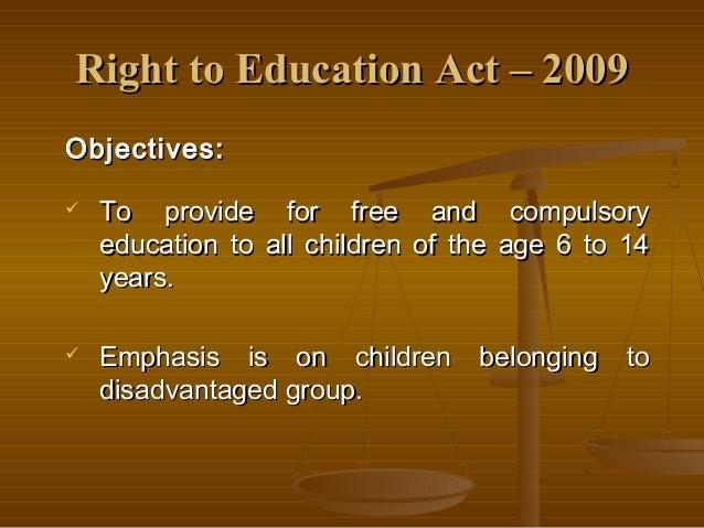 compulsory education advantages