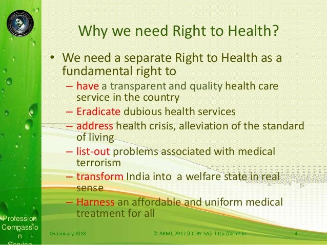 Right to Health as Fundamental Right in India