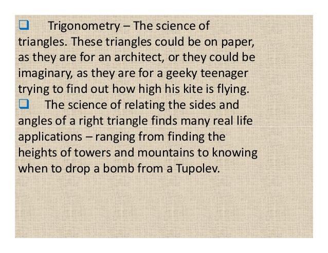 Right triangle trigonometry word problems