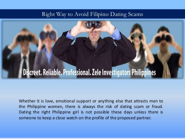 Philippines dating scams