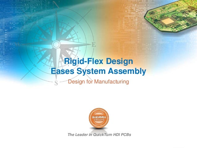 The Leader in QuickTurn HDI PCBs Rigid-Flex Design Eases System Assembly Design for Manufacturing