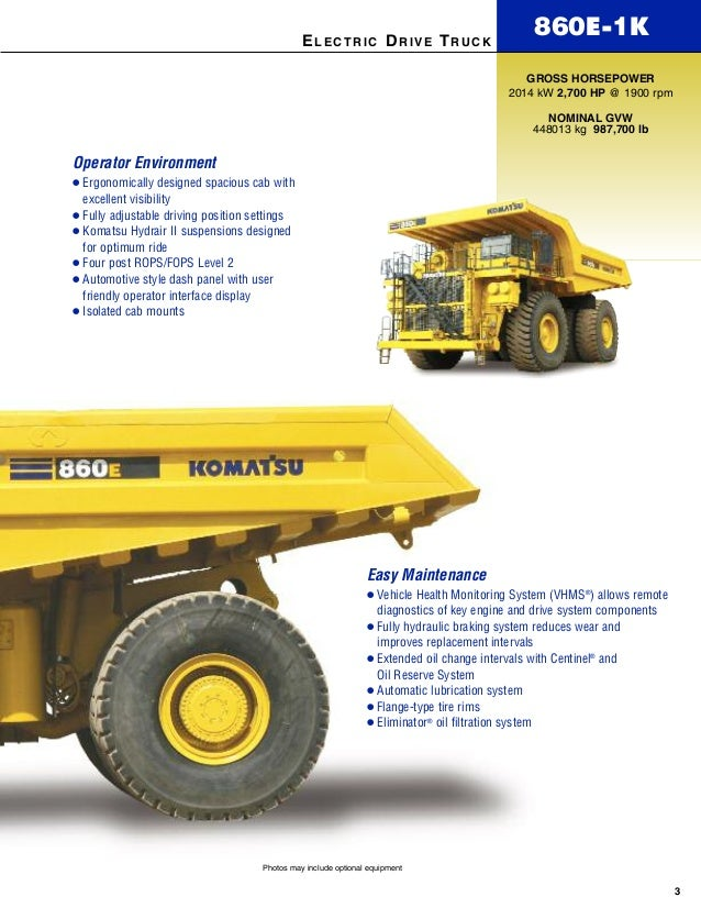 Rigid Dump Trucks 860 E 1k