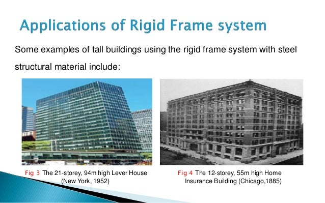 Examples Of Steel Frame Buildings : Rigid frame systems