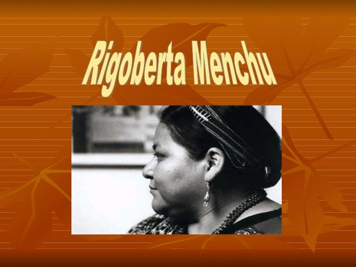 essays on i rigoberta menchu In this essay rigoberta menchu and the story of all poor guatemalans by david stoll westview i, rigoberta menchu: an indian woman in guatemala.