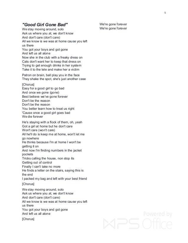 Rihanna Hit Lyrics