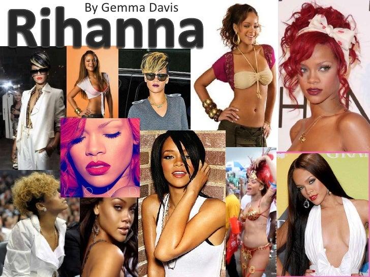 Rihanna<br />By Gemma Davis<br />