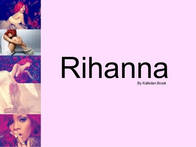 Rihanna By Kalkidan Brook