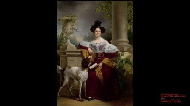 KRUSEMAN, Jan Adam Portrait of Alida Christina Assink 1833 Oil on wood, 206 × 149cm Rijksmuseum, Amsterdam