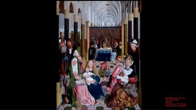 GEERTGEN tot Sint Jans The Holy Kinship (detail) 1485-95 Oil on wood Rijksmuseum, Amsterdam