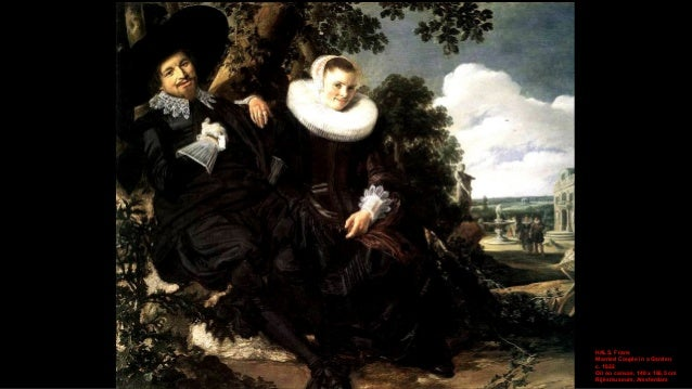 HALS, Frans Married Couple in a Garden (detail) c. 1622 Oil on canvas Rijksmuseum, Amsterdam
