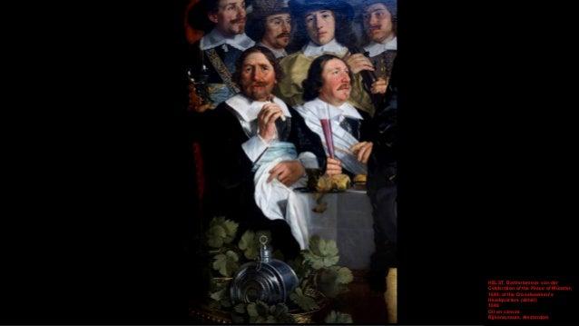 HELST, Bartholomeus van der Celebration of the Peace of Münster, 1648, at the Crossbowmen's Headquarters (detail) 1648 Oil...