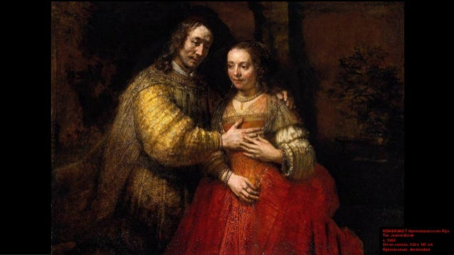 REMBRANDT Harmenszoon van Rijn The Jewish Bride (detail) c. 1665 Oil on canvas Rijksmuseum, Amsterdam (on loan)