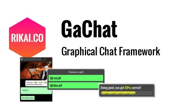 GaChat Graphical Chat Framework