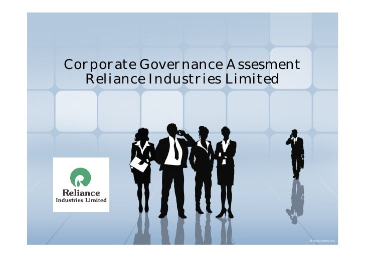 Corporate Governance Assesment   Reliance Industries Limited