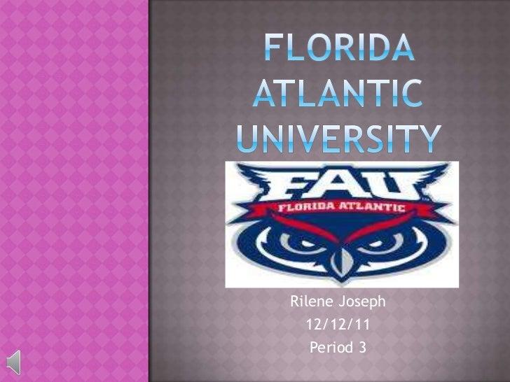Rilene Joseph  12/12/11   Period 3