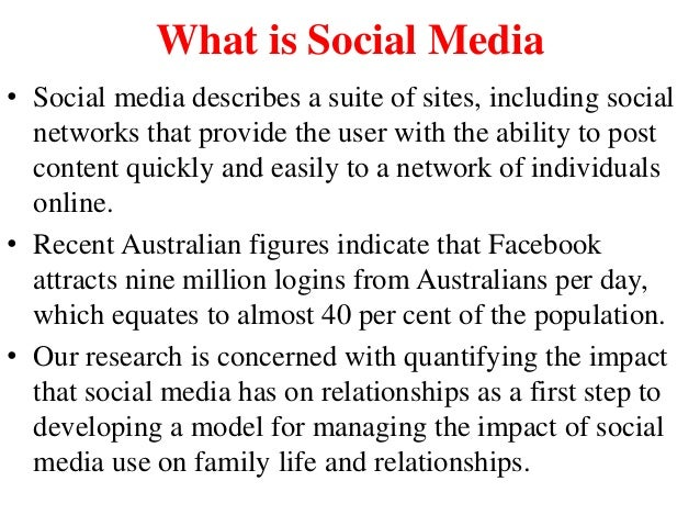 the internet and family relationships Close internet relationships were by one's friends and family the relative anonymity of internet a model of relationship formation on the internet.