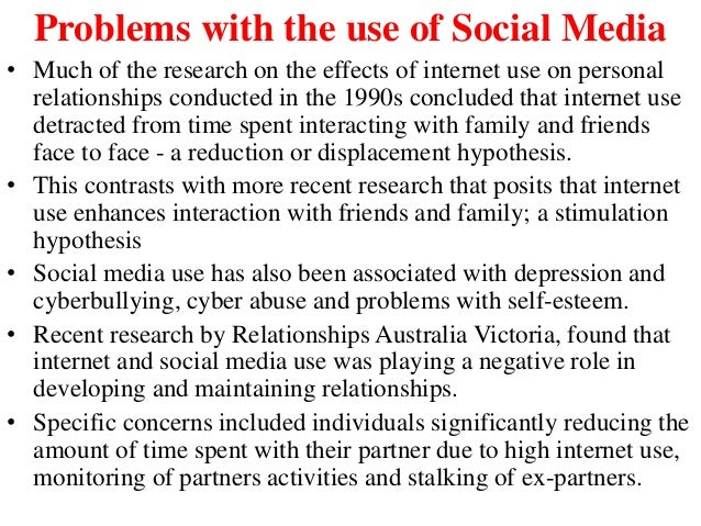 negative effects of social media essay Communication technology and websites - the positive and negative effects of social media.