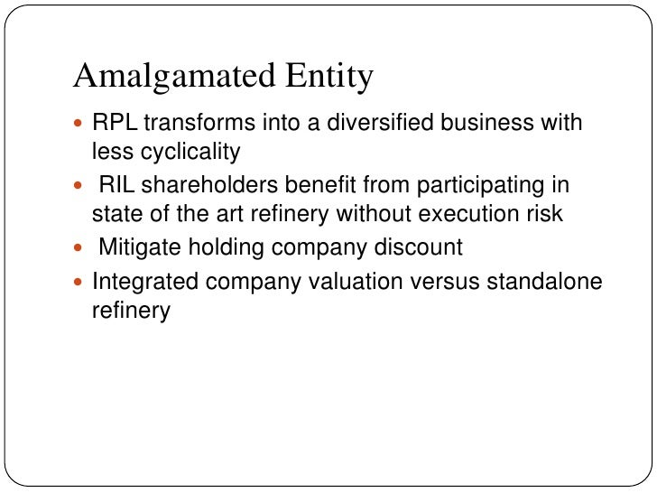 ril and rpl merger case study