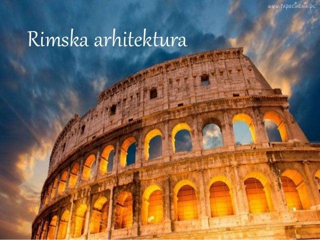 Rimska arhitektura