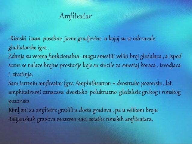 Terme Apoderijum-svlacionice Kaldarium-kupanje sa hladnom vodom Tepidarijum-kupanje sa toplom vodom Frigidarijum-kupanje s...