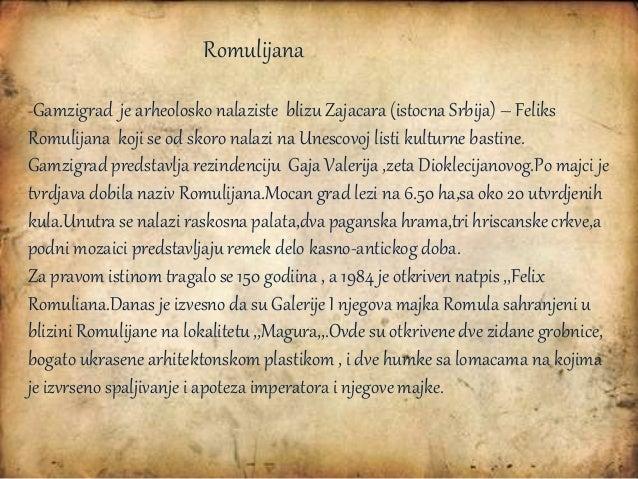 Mentor : Vera Milicevic Autor prezentacije : Branka Dišic G31