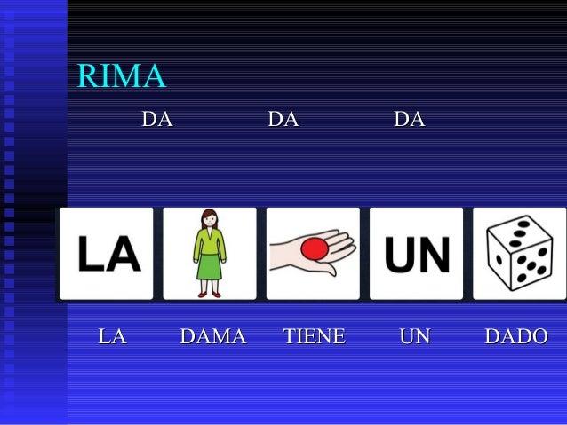 RIMA DADA DADA DADA LALA DAMADAMA TIENETIENE UNUN DADODADO
