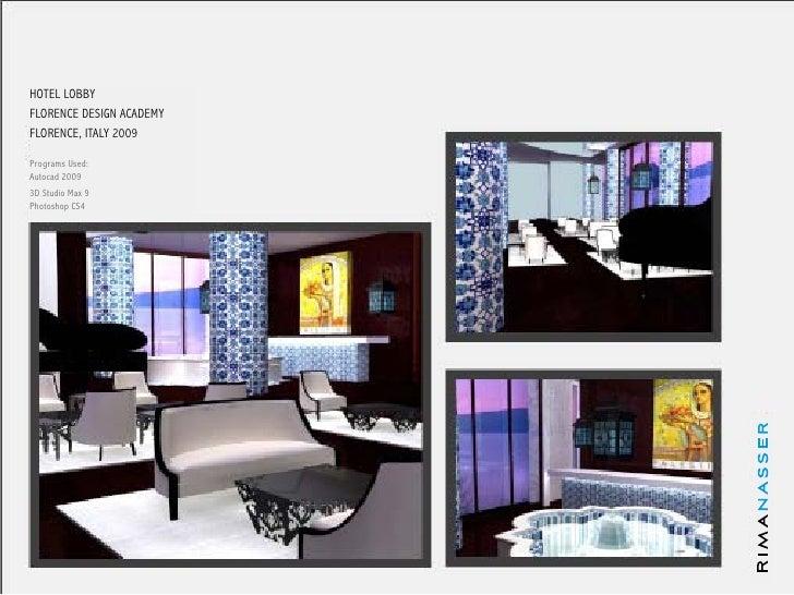 rima nasser design portfolio