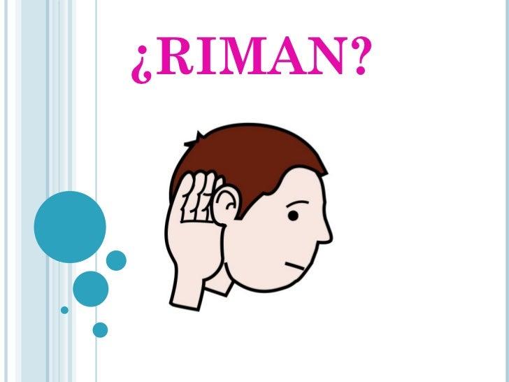 ¿RIMAN?