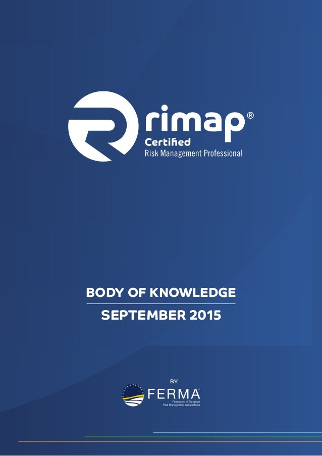 SEPTEMBER 2015 BODY OF KNOWLEDGE BY