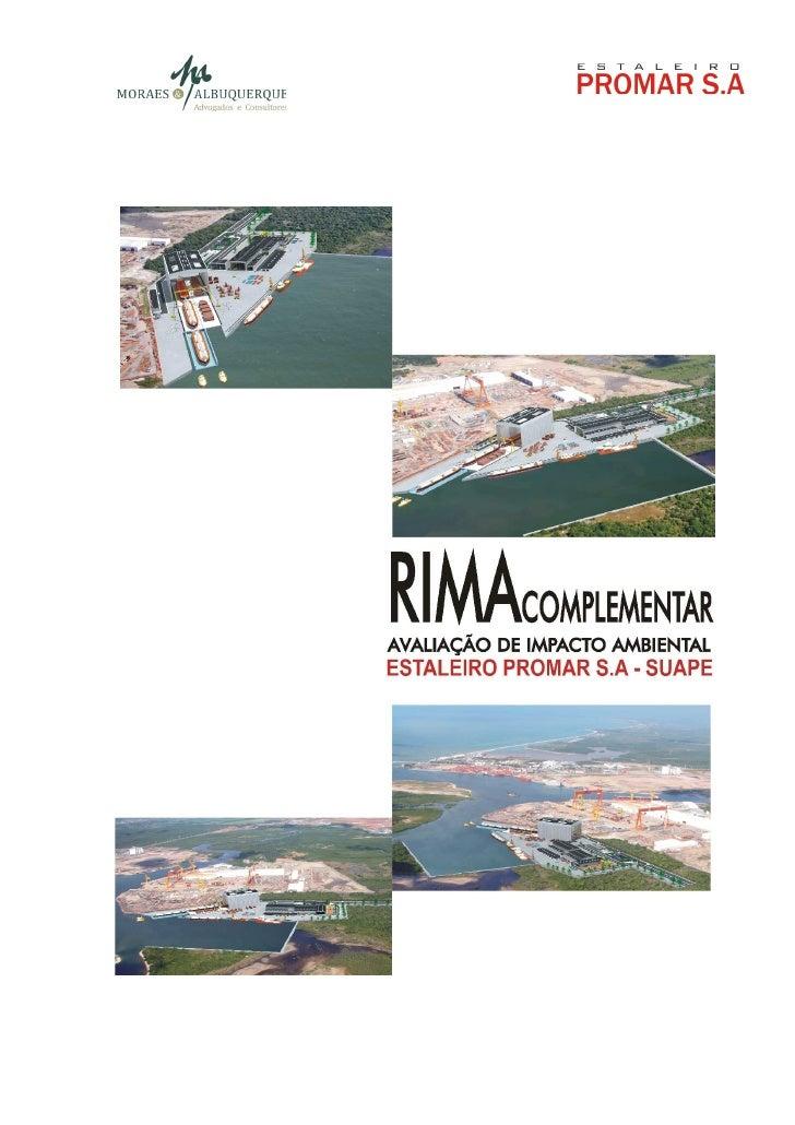 O RIMA COMPLEMENTARO presente documento foi elaborado pela Empresa MORAES &ALBUQUERQUE ADVOGADOS E CONSULTORES e correspon...